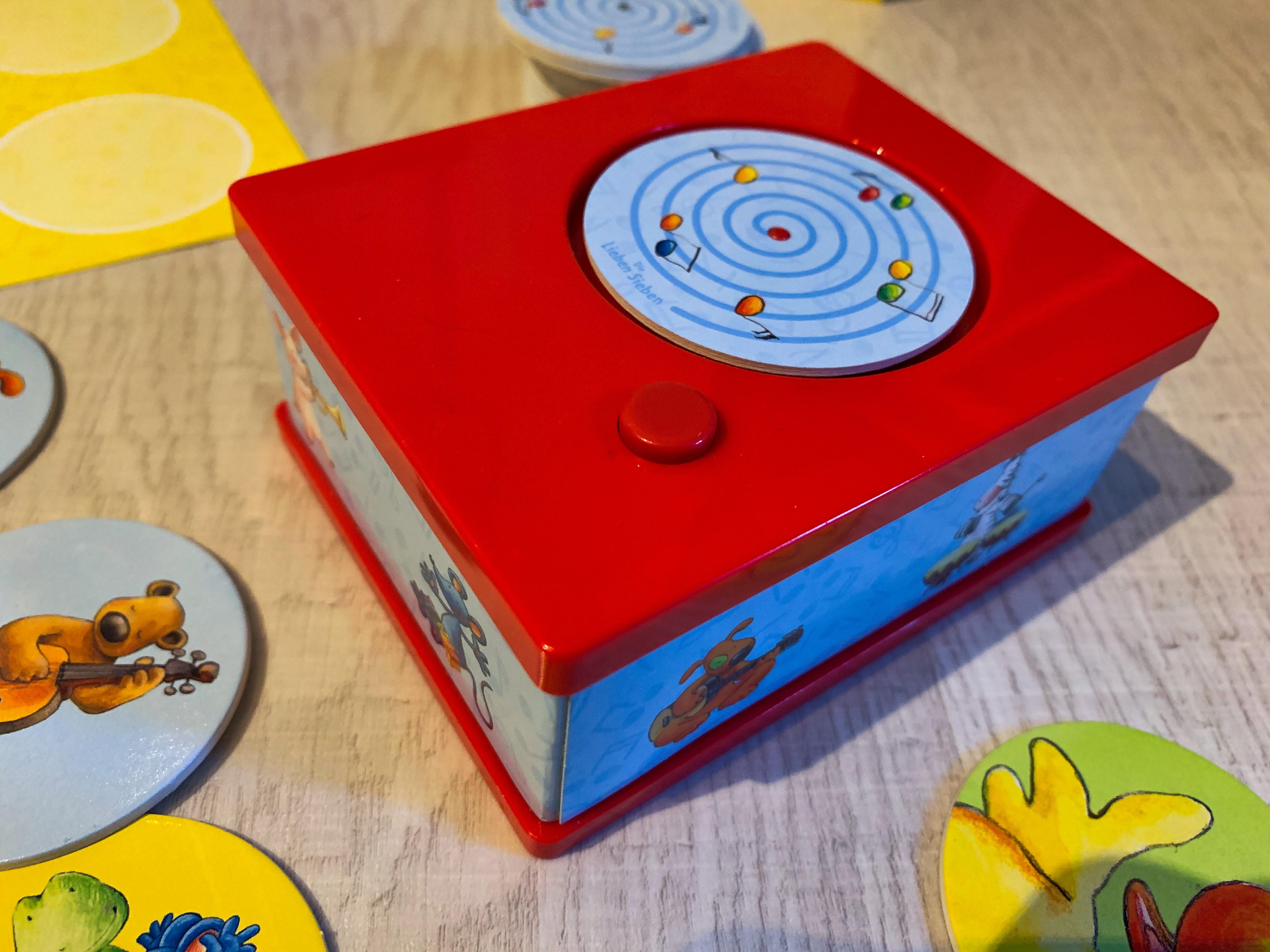 Sound Memory - Memory Spiel Soundbox