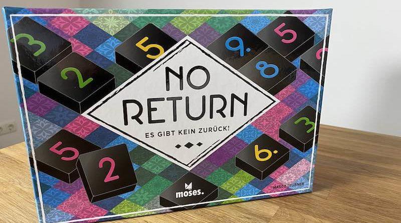 No Return von Moses Verlag