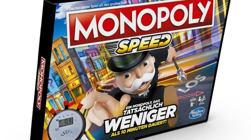 Monopoly Speed von Hasbro