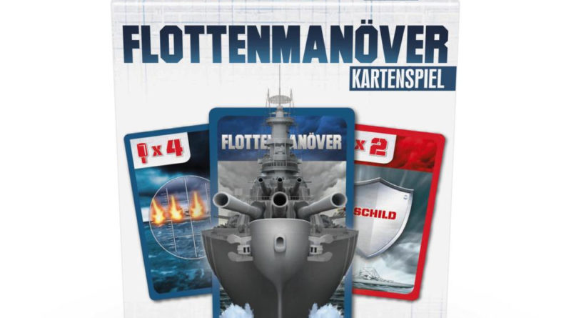 Flottenmanöver Kartenspiel von Hasbro