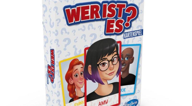 Wer ist es Kartenspiel von Hasbro
