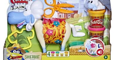 Play-Doh Animal Crew Sherrie Mama Wollschaf