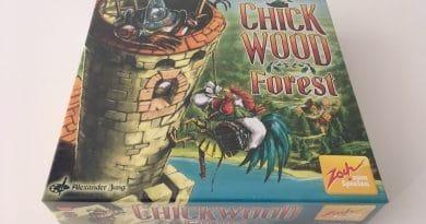 """Ausgefeiltes Hühner-Robin-Hood """"Chickwood Forest"""" vom Zoch Verlag"""