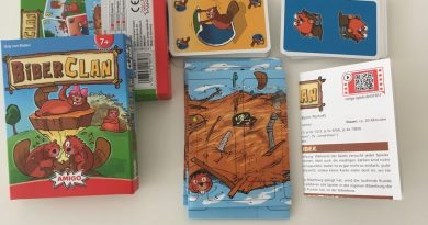 """Kartenspiel """"Biber Clan"""" von Amigo mit einfachen Regeln"""